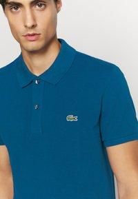 Lacoste - Polo shirt - raffia matting - 5