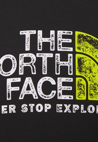 The North Face - RUST TEE  - Print T-shirt - black/white