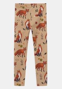 Walkiddy - FOXES UNISEX - Leggings - Trousers - beige - 1