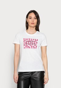 Tommy Hilfiger - REGULAR GRAPHIC TEE - Print T-shirt - white - 0