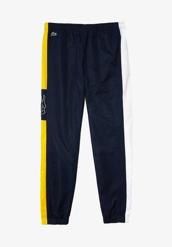 Trainingsbroek - navy blau / weiß / gelb / weiß