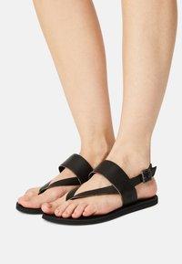 Timberland - CAROLISTA ANKLE - T-bar sandals - black - 0