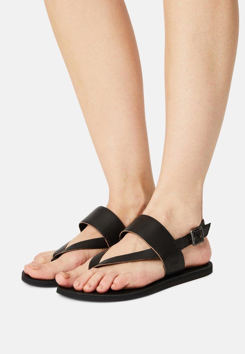 Timberland - CAROLISTA ANKLE - T-bar sandals - black