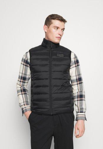 PUFFER VEST - Waistcoat - black