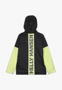Helly Hansen - ACTIVE RAIN ANORAK - Waterproof jacket - ebony - 1