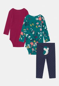 Carter's - OWL SET - Leggings - multicolor - 1