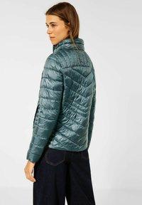 Cecil - IN STEPP OPTIK - Winter jacket - grün - 2