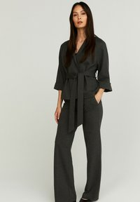STOCKH LM - PETRA  - Trousers - GREY MELANGE - 1