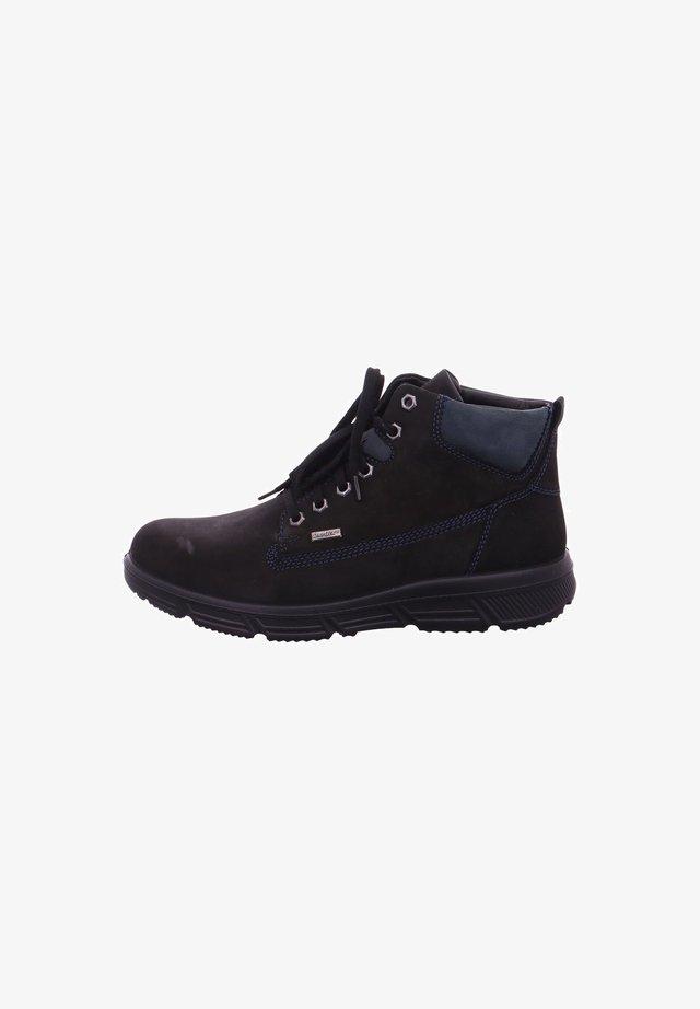 Lace-up ankle boots - schwarzozean
