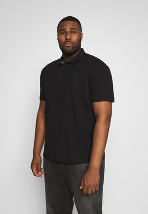 WITH CONTRAST - Polo - black