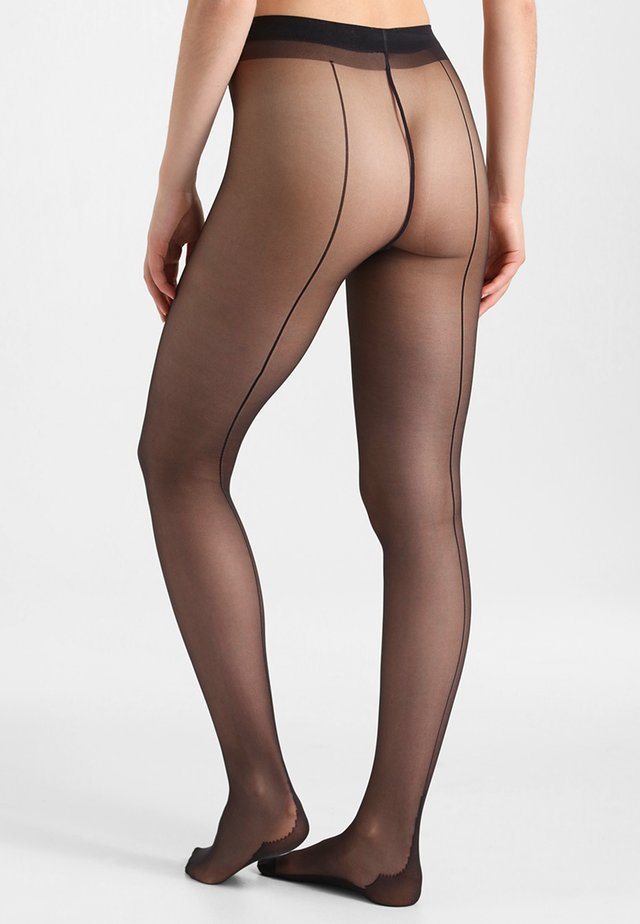 21 DEN COUTURE SIGNATURE - Collants - noir