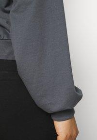 Missguided Plus - KANGROO - Sweatshirt - charcoal - 4