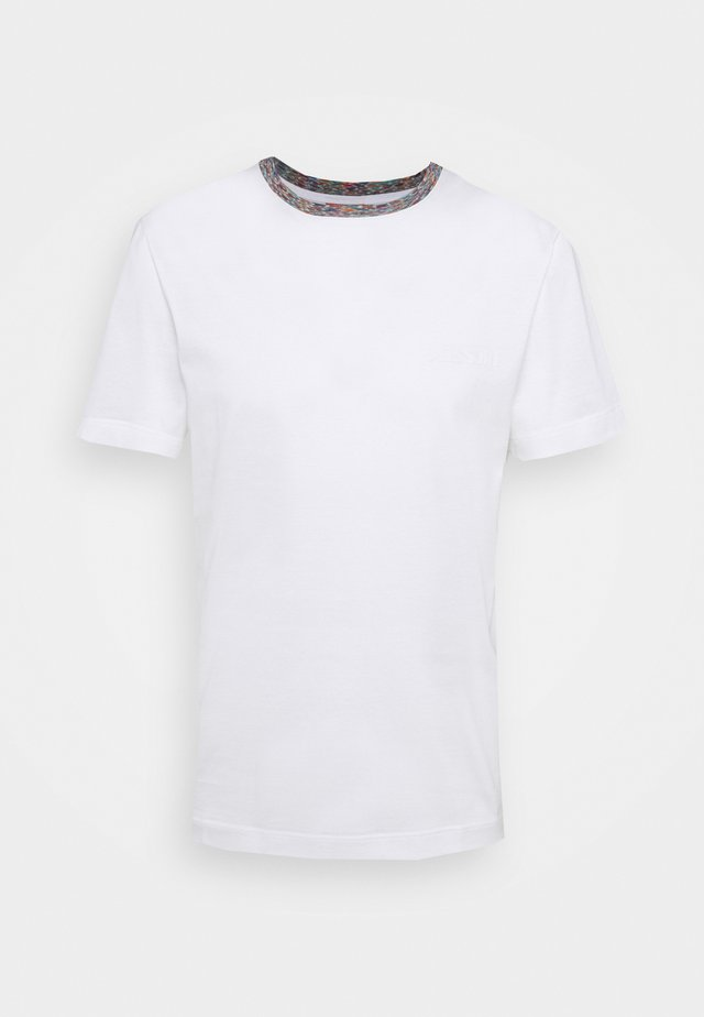 MANICA CORTA - T-shirt con stampa - white/multicoloured
