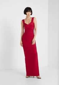 Hervé Léger - ICON-GOWN WITH SIDE SLIT - Abito da sera - rogue - 1