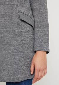 ONLY - ONLLINDA COATIGAN - Kort kåpe / frakk - medium grey melange - 3