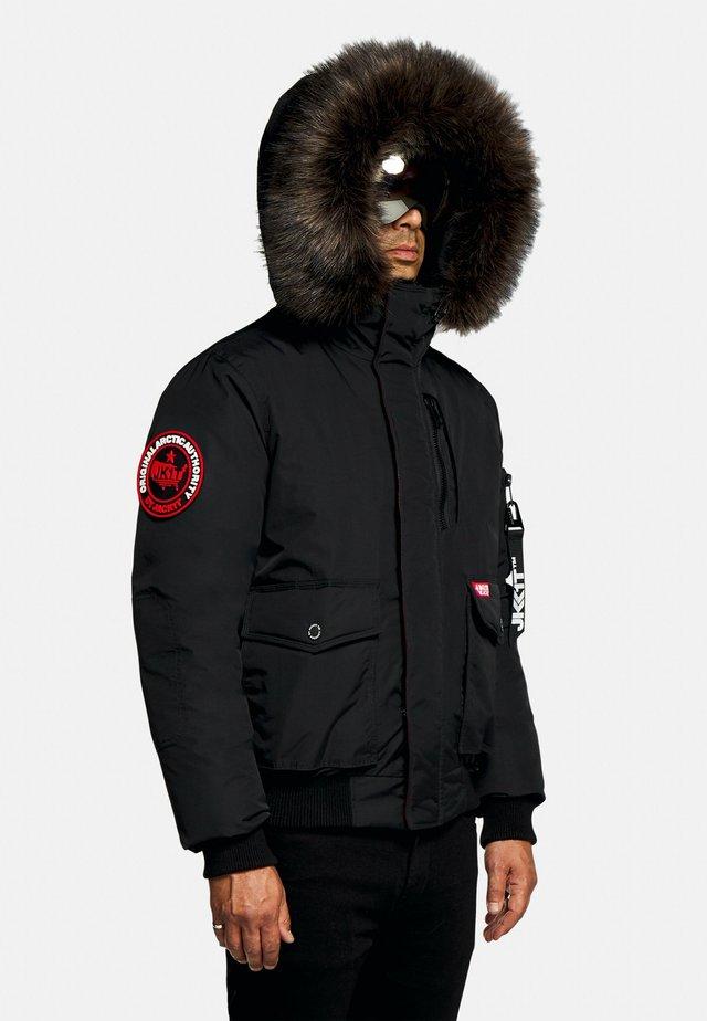 MOUNTAIN BIG - Gewatteerde jas - black