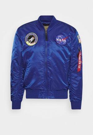 NASA - Bomber Jacket - nasa blue
