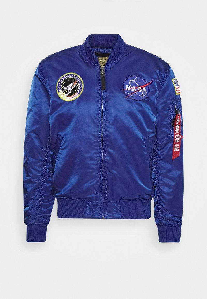 Alpha Industries - NASA - Bomberjacks - nasa blue