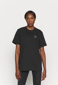 adidas by Stella McCartney - TEE - T-shirt z nadrukiem - black - 0