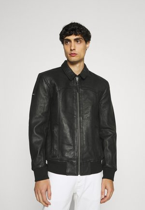 INDIE CLUB JACKET - Giacca in similpelle - black