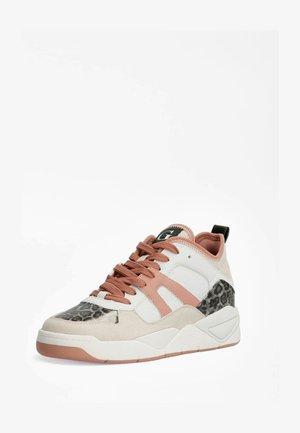 DRIVE ANIMALPRINT - Sneakers laag - mehrfarbig, weiß