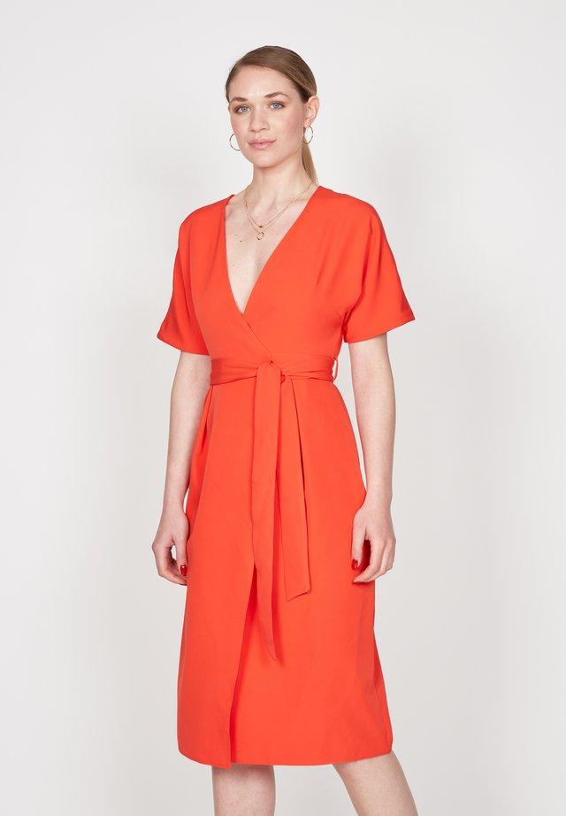 Sukienka letnia - orange