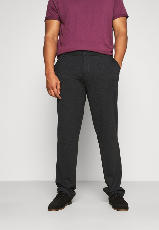 PANTS - Trousers - charcoal