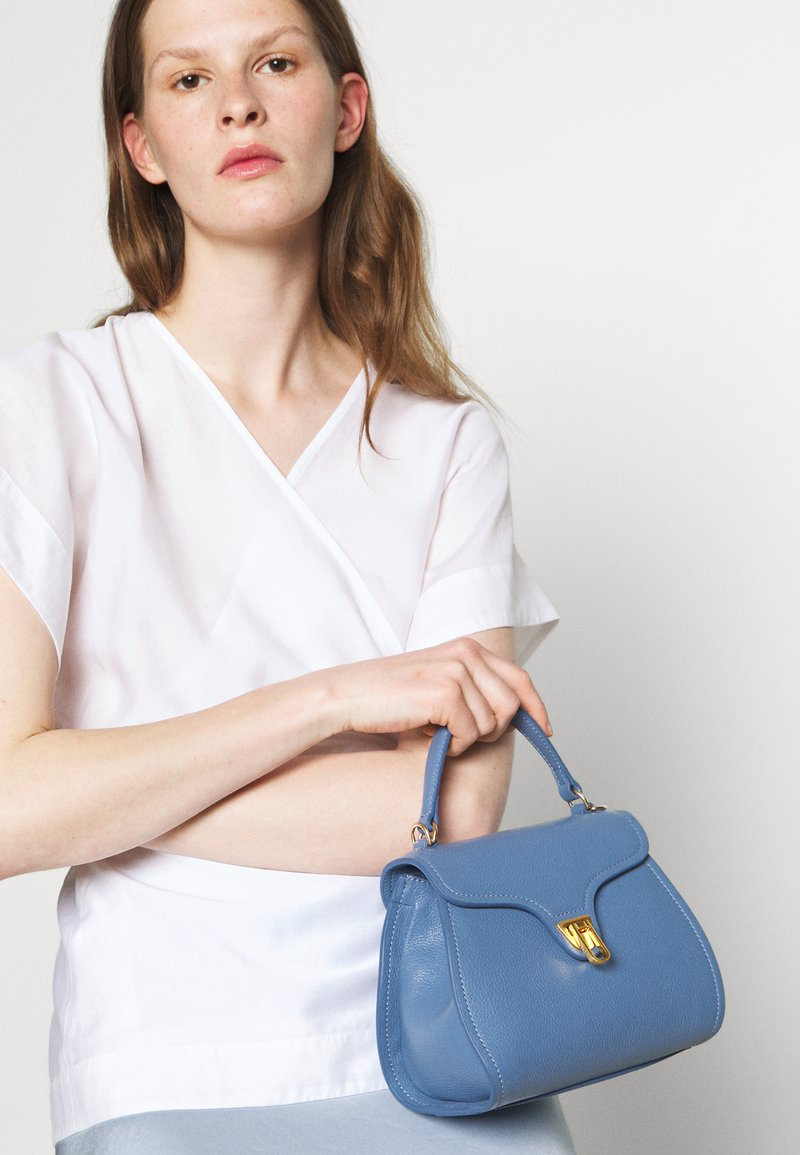 Coccinelle - MARVIN - Handbag - pacific blue