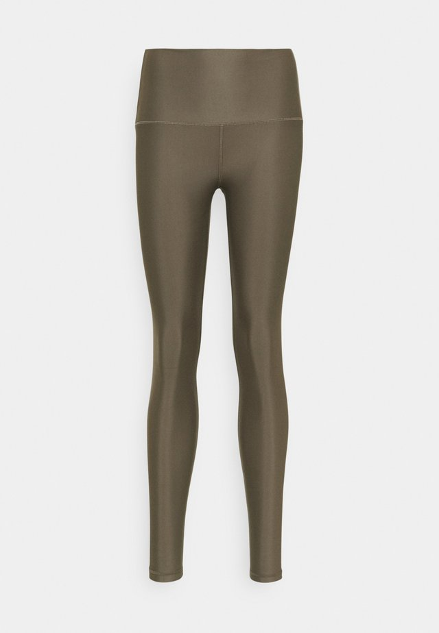 SHINE - Leggings - Trousers - arbor olive