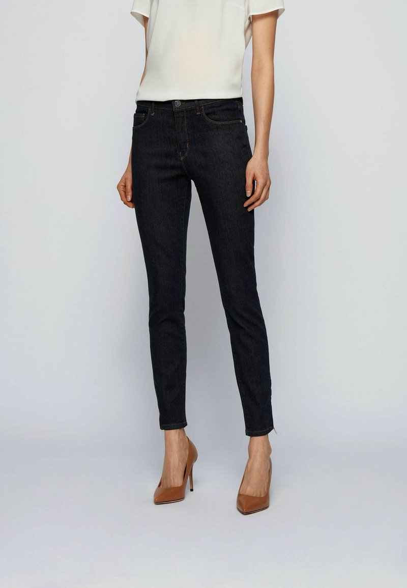 BOSS - CROP 2.0 - Jeans Skinny Fit - dark blue