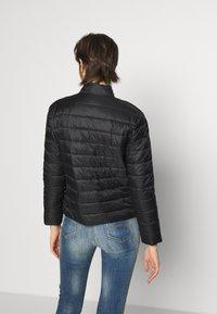 Emporio Armani - BLOUSON JACKET - Light jacket - nero - 2