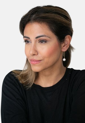 MIT PERLE WEISS - Earrings - white