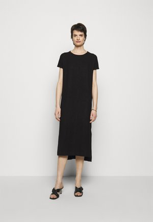 GATE DRESS - Jersey dress - black