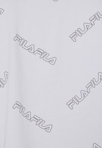 Fila - JAMILIA WIDE CROPPED TEE - Print T-shirt - bright white - 5