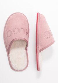 HUGO - COZY - Kapcie - light pink - 3