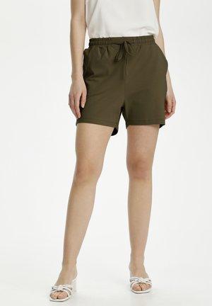 LINDA - Shorts - olive