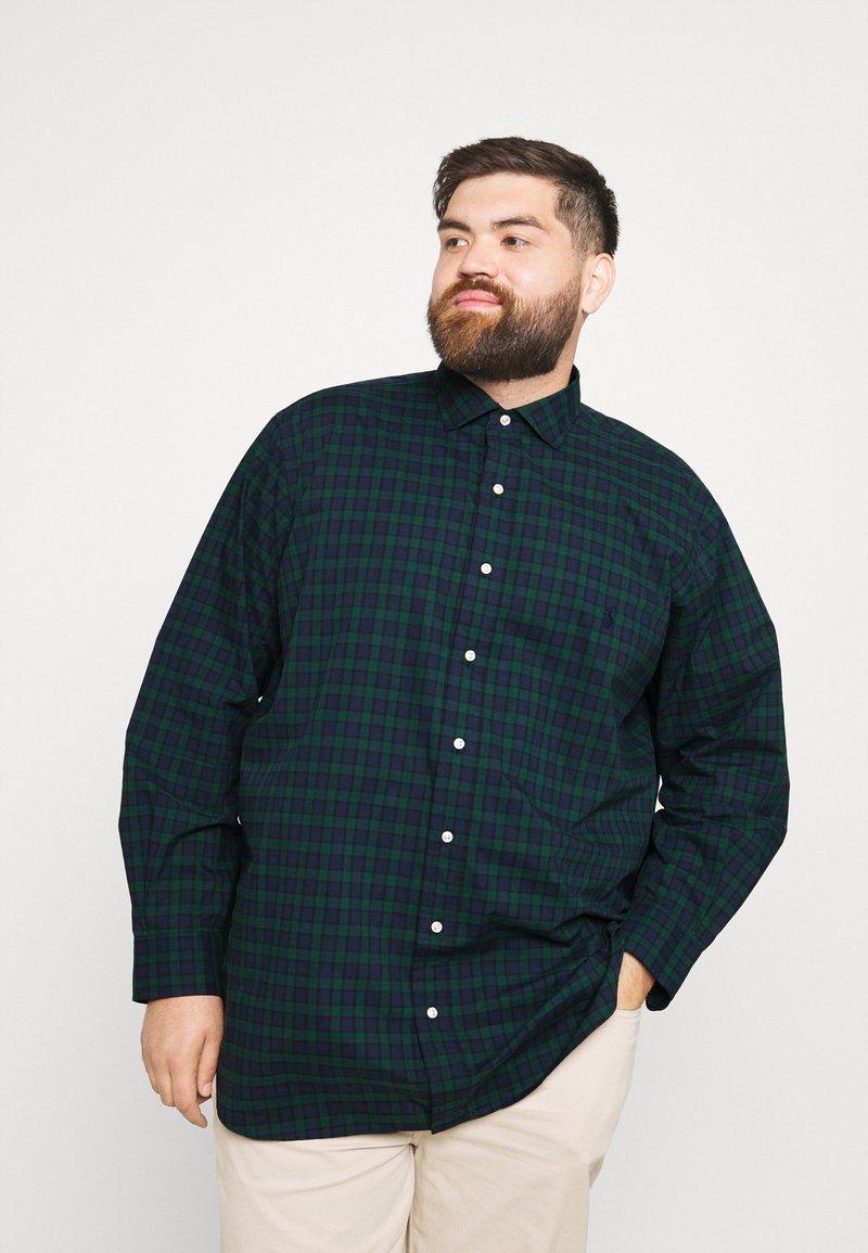Polo Ralph Lauren Big & Tall - LONG SLEEVE SPORT SHIRT - Shirt - green/navy