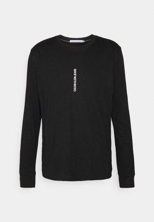 INSTIT SEASONAL GRAPHIC TEE - Långärmad tröja - black