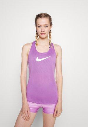 DRY BALANCE - Sportshirt - violet shock/white