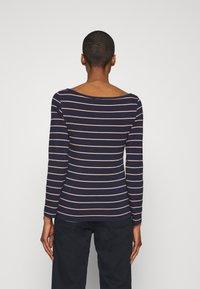 Anna Field - Long sleeved top - dark blue/camel - 2