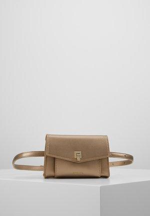 AMELIE - Bum bag - bronze metallic