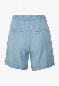 b.young - BYHARIMO SHORTS - Shorts - chambray blue - 1
