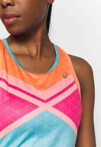 ASICS - TENNIS TANK - Sports shirt - techno cyan - 6