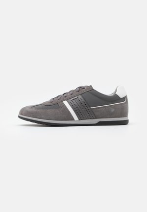 RENAN - Matalavartiset tennarit - dark grey/grey
