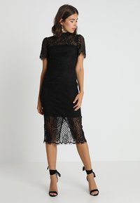 Mossman - MAKING THE CONNECTION DRESS - Sukienka koktajlowa - black - 1