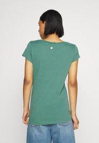 Ragwear - Print T-shirt - dusty green - 2