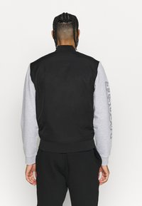 Lacoste Sport - JACKET - Veste de survêtement - black/silver chine/white - 2