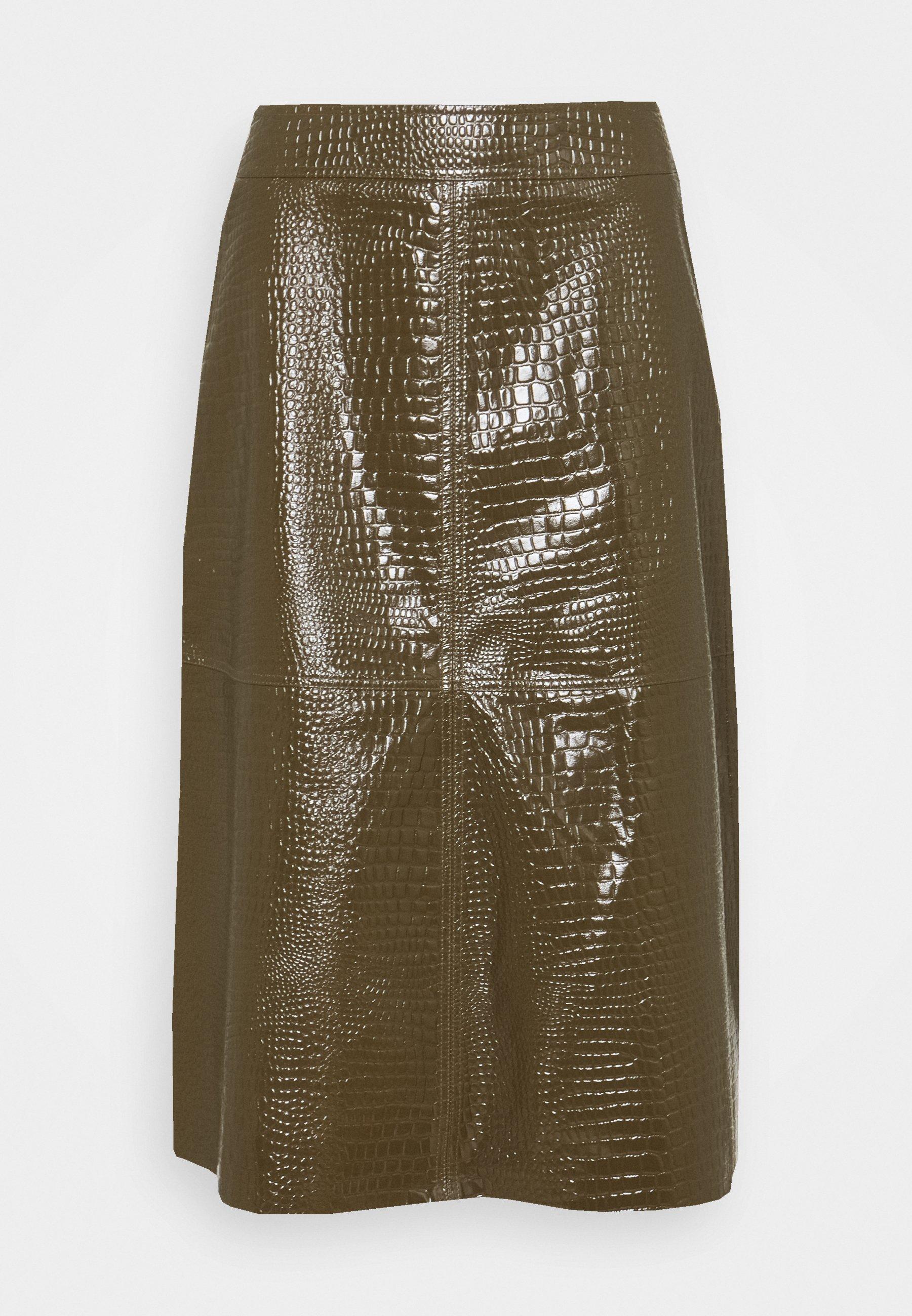 Women ELOISE SKIRT - Leather skirt