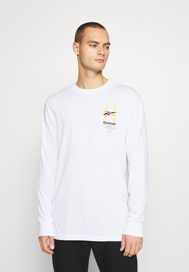 HOTEL TEE - Bluzka z długim rękawem - white