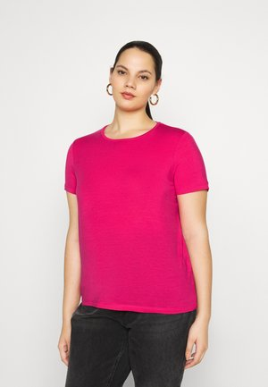 VMAVA - Basic T-shirt - pink peacock